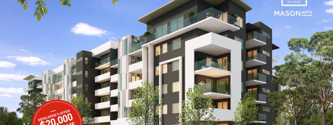 Slideshow Mason Apartments - Exterior