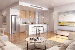 Slideshow Mason Apartments - Living Room Stone