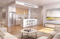 Mason Apartments - Living Room Stone