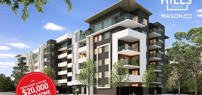 The Hills Village Mason Apartments Seven Hills