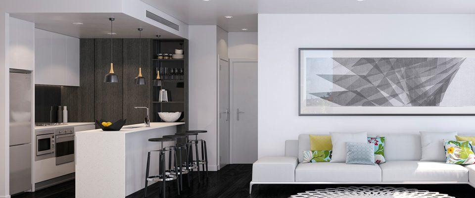 Mason Apartments - Living Room Slate