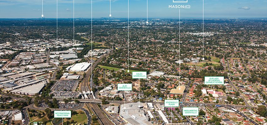 Mason Apartments - Aerial