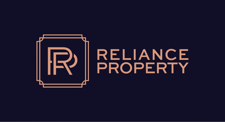 0773 - Reliance Primary Logo Navy Peach