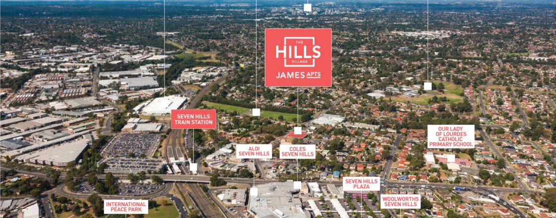 The Hills Village - James Apartments - Location
