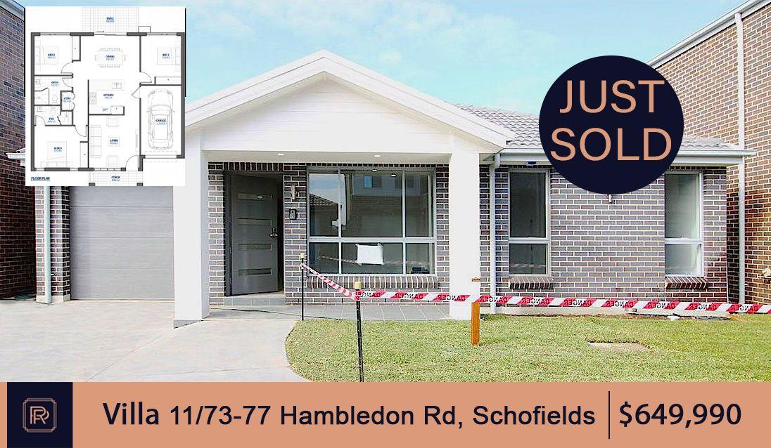 11/ 73-77 Hambledon Road  Schofields NSW 2762
