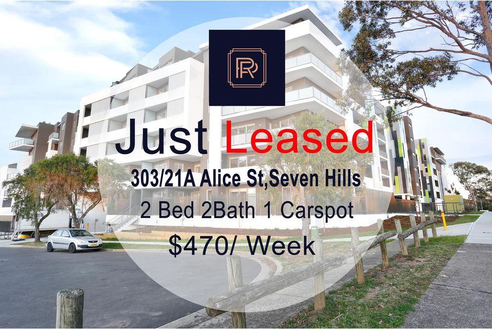 303/ 21 A Alice Street, Seven Hills