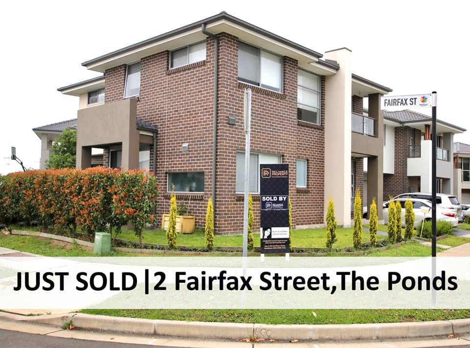 2 Fairfax Street, The Ponds