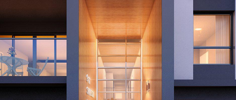 Sienna Apartments - Entrance
